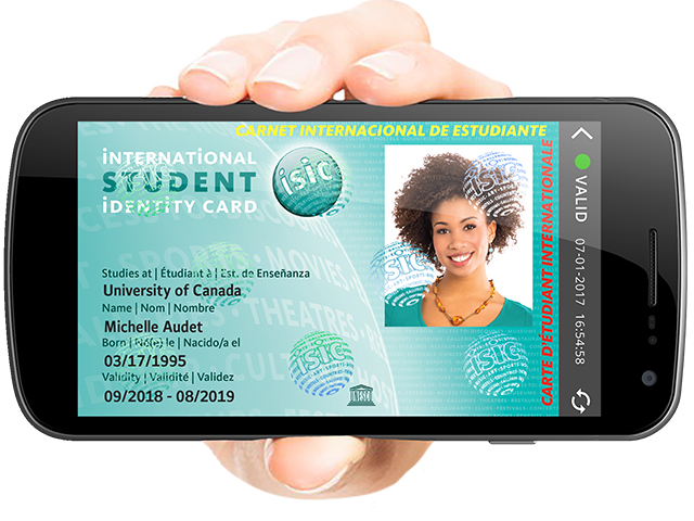 Cover Image of International Student Card