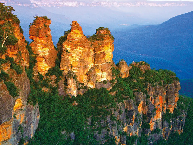 Cover Image of Blue Mountains Waterfalls, Scenery & Sunset Tour