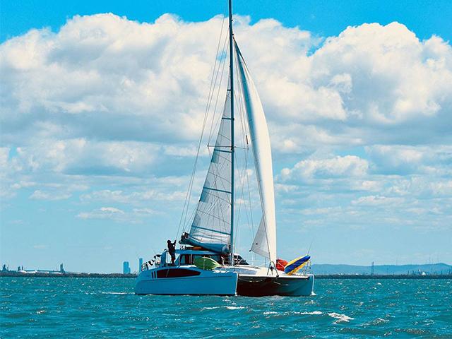 Cover Image of Moreton Bay Catamaran Sailing Cruise