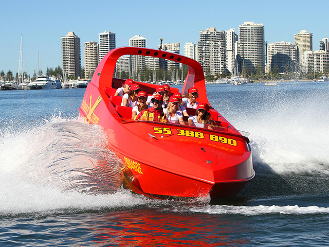 Cover Image of Ultimate Jetboat Ride Tour Gold Coast