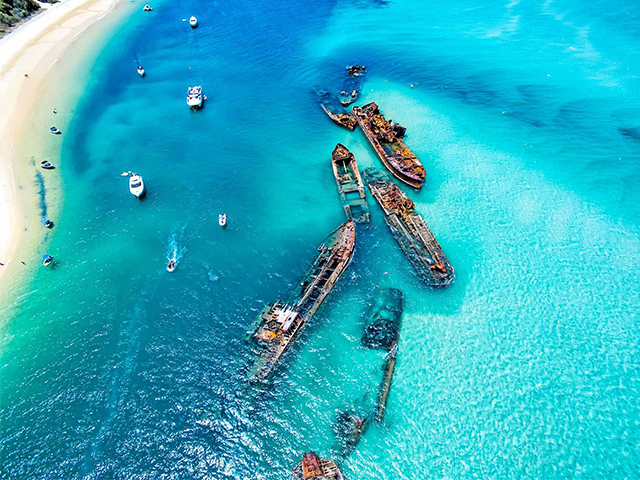 Cover Image of Moreton Island Get Wrecked Tour
